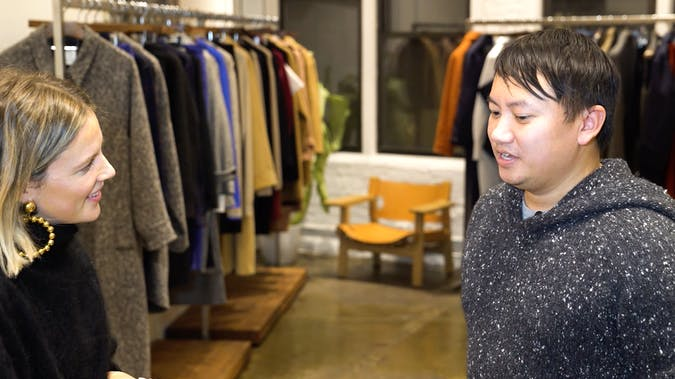Watch Photographer Tommy Ton On His Design Debut